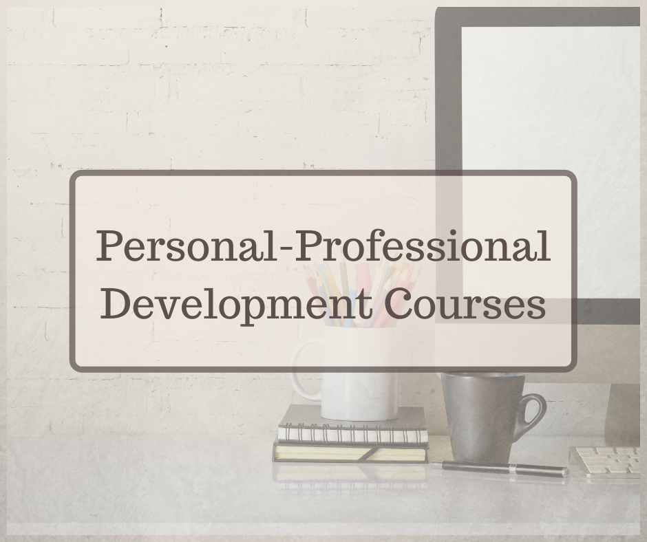 Personal Professional Development Courses